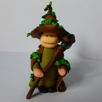 Ivy Witch Polymer Sculpture