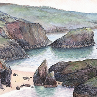 Kynance Cove - ORIGINAL PAINTING
