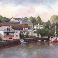 Helford by the River - ORIGINAL PAINTING