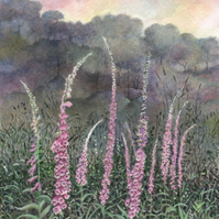 Foxglove (1) - ORIGINAL PAINTING