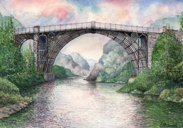 Ironbridge - ORIGINAL PAINTING