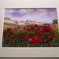 PRINT - Poppy Meadow