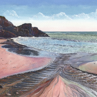 Kennack Sands - ORIGINAL PAINTING