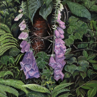 Foxglove (No2) - ORIGINAL PAINTING