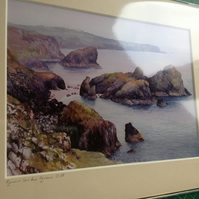 PRINT - Kynance Cove from Kynance Cliff