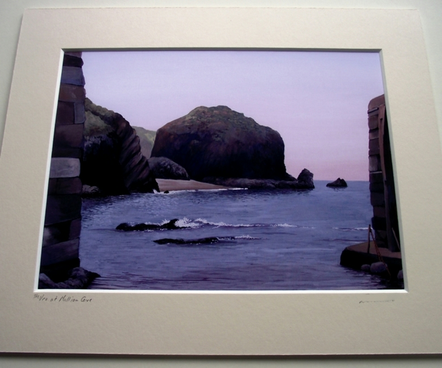 PRINT - The Vro at Mullion Cove