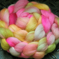 """Energising Jewels"" MHE Falkland Spinning Fibre 110g"