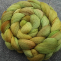 """Autumn Light"" MHE Falkland Spinning Fibre 110g"