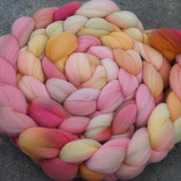 """Birthday Bouquet"" MHE Merino Spinning Fibre 130g"