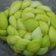 """Morning Dew"" MHE Falkland Spinning Fibre 120g"