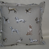 Clarke & Clarke Best of Show Dogs Cushion