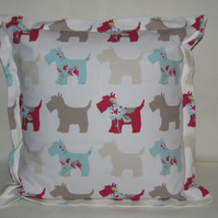 Clarke & Clarke Scottie Dog Cushion