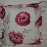 Laura Ashley Freshford Cranberry Cushion