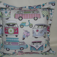 Campervan Cotton Cushion