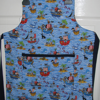 Child's Reversible Cotton Apron for 5 Years plus
