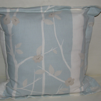 Laura Ashley Cottonwood Duck Egg Cushion