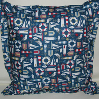 Nautical Theme Cushion