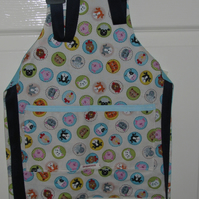 Child's Reversible Cotton Apron