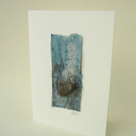 Sea Glass Art Card
