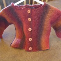 Warm Woollen Baby Jacket