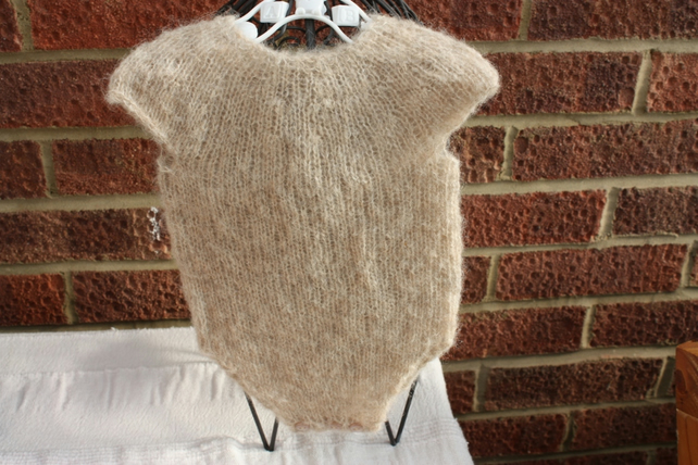 Sweet Alpaca and Silk mix onesie for that tiny little one!
