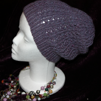 Ladies! A gorgeous warm Alpaca mix slouch hat!