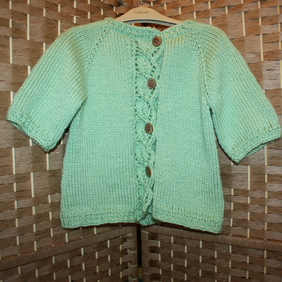 Age 3-4 - Beautiful soft spring green jacket