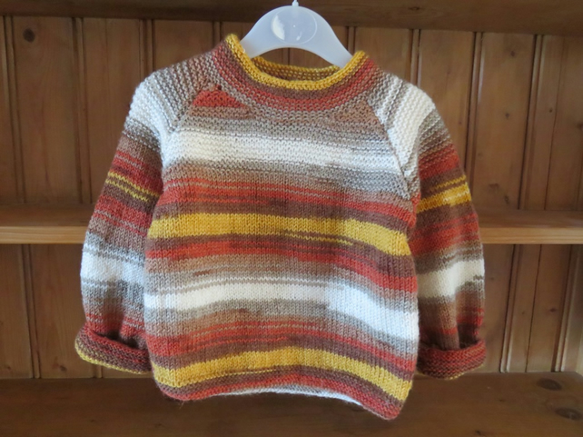 3-4yrs - Lovely stripey jumper!