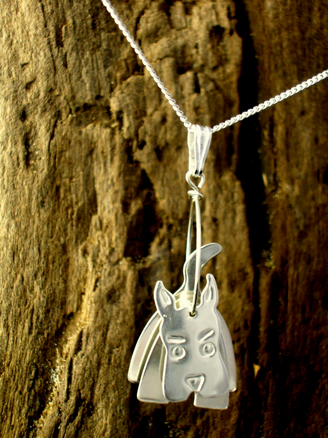 3D Scottie Dog Pendant - Free UK postage