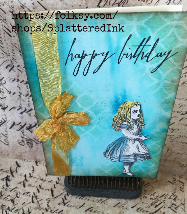 Alice In Wonderland -happy Birthday!