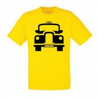Taxi Personalised T-shirt