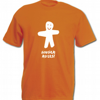 Ginger Rules T-shirt (Adult)