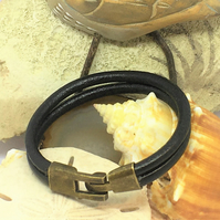 Twin Round Leather Cord