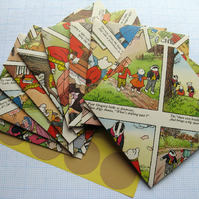 10 Rupert The Bear Envelopes with Sticker Seals