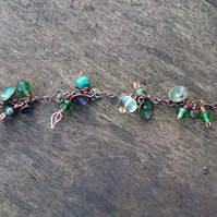 Jack in the Green copper bracelet