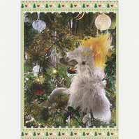 "A5 Christmas Card ""Algy's Christmas Tree"""
