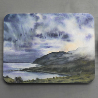 "Mouse Mat Scottish Landscape ""Clouds Descend on Ben Hiant"""