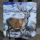 "Tote Bag ""Stag in the Snow"""