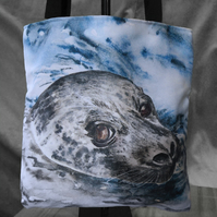 "Seal Tote Bag ""Silvie"""