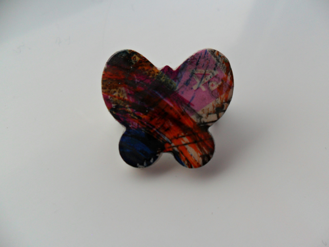 Small Butterfly Brooch
