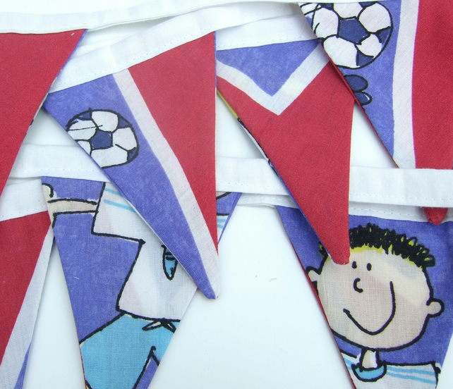 Football Bunting, Gifts for Children