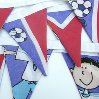 SALE, Football Bunting, Children's Bunting