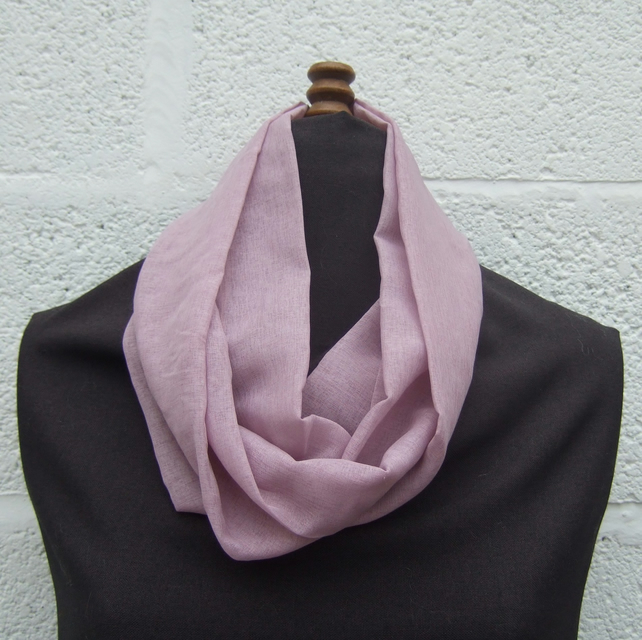 Circular Heather Scarf