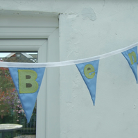 Childrens Name Bunting
