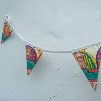Bunting for Children, Pigs