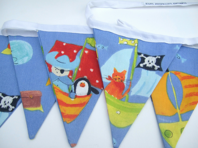 Children's Pirate Bunting