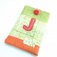 Reduced to clear - Phone Case or Glasses Case - Monogram J
