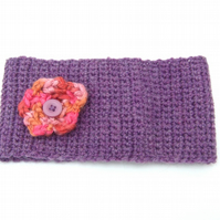Girls Crocheted Headband