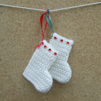 Christmas Tree Decorations -2 Stockings