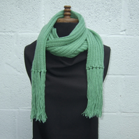 Long Green Scarf